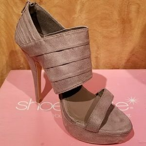 Taupe colored heels